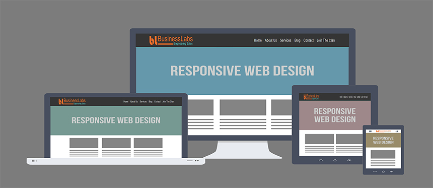 responsive web design for increasing conversion rates