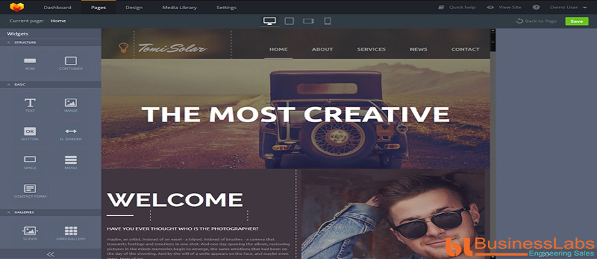 web design template for conversion rate optimization