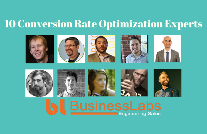10 conversion rate optimization experts
