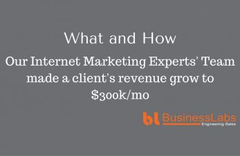 How our Internet Marketing Experts making over $300k for a Client