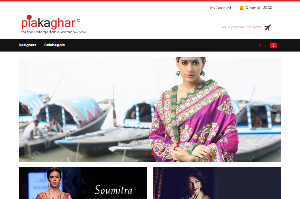 piakaghar website design