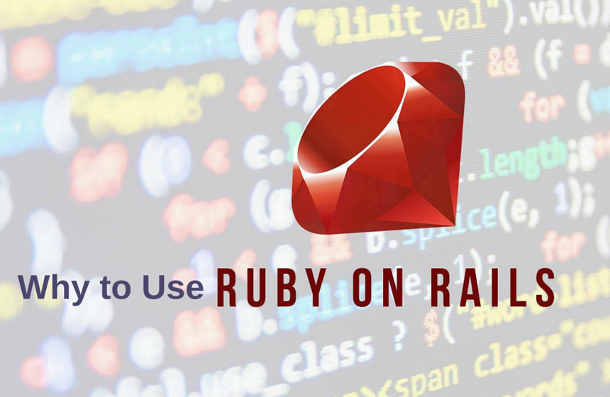 Why to use Ruby on Rails in web application development
